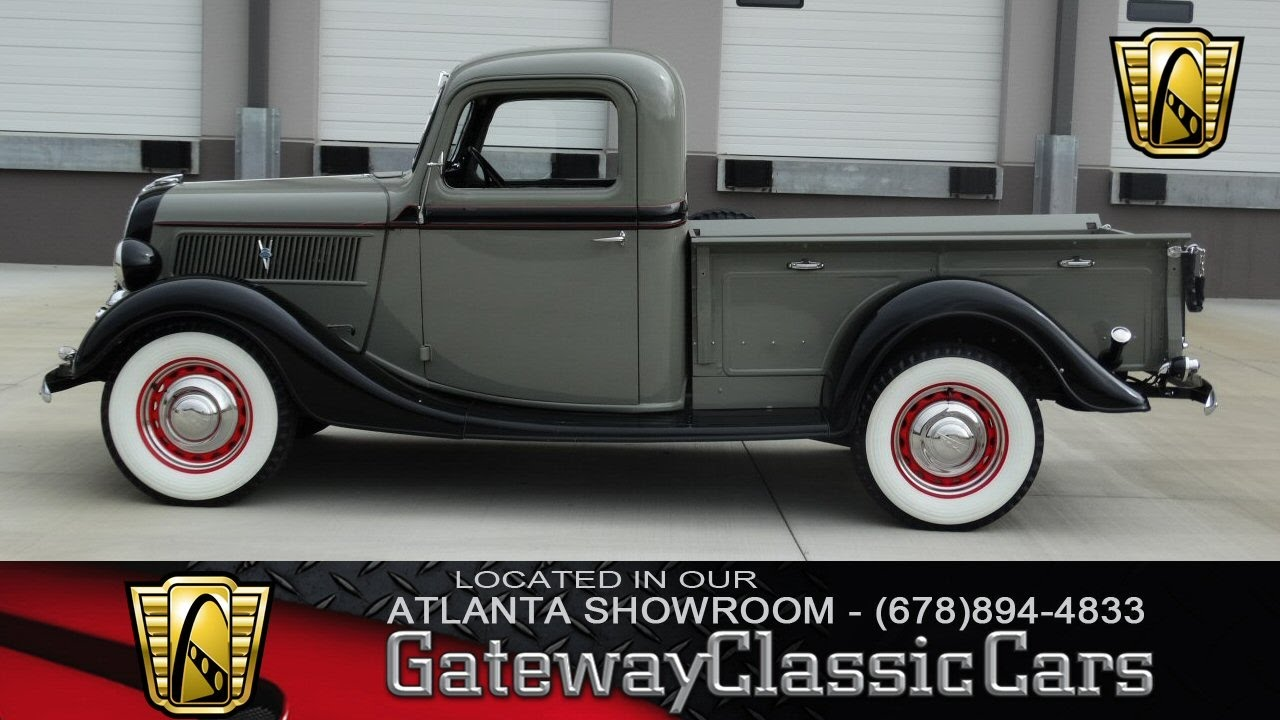 1937 Ford Pick Up Truck - Gateway Classic Cars of Atlanta #300 ...