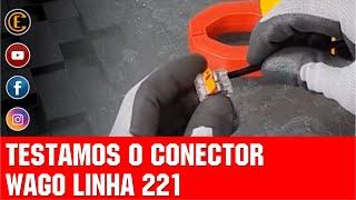 TESTAMOS O WAGO 221 E O RESULTADO FOI INCRÍVEL!