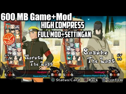 Game Ppsspp Naruto Ultimate Ninja Storm 4