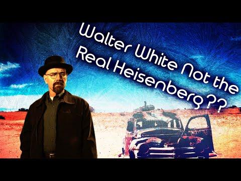 WALTER WHITE NOT REAL HEISENBERG??