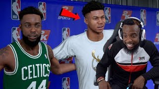 Me & Giannis Choosing Our All-Star Line-Up! NBA 2K19 MyCareer Ep 114