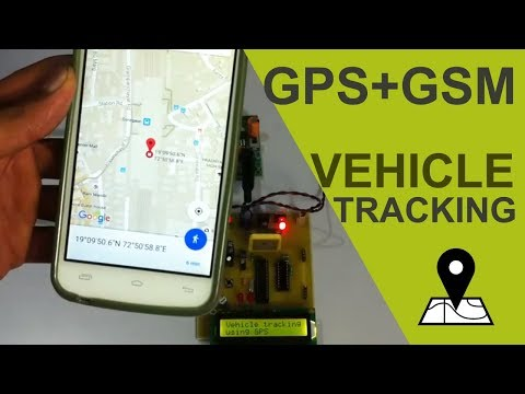 GPS + GSM Based Advanced Vehicle Tracking System Project