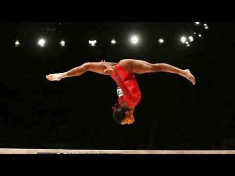 Simone Biles Breaks U.S. Women Gymnastics Team Record.*Full Video*
