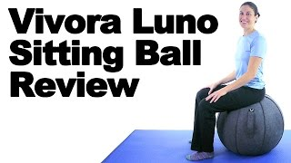 Vivora Luno Sitting Ball Review - Ask Doctor Jo