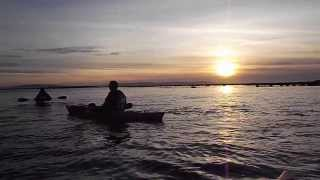 Guided Sea Kayak Tour In Galway City At Sunset