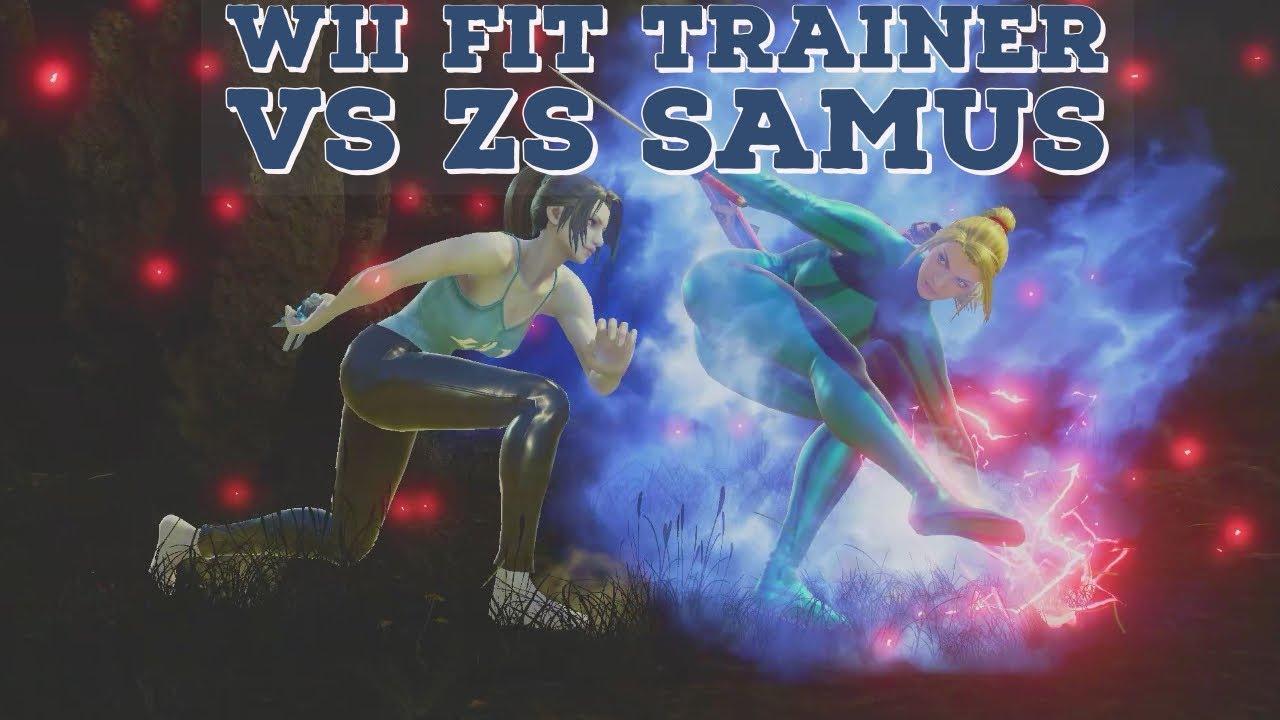 Soulcalibur VI- Wii Fit Trainer vs Zero Suit Samus (Wii ...