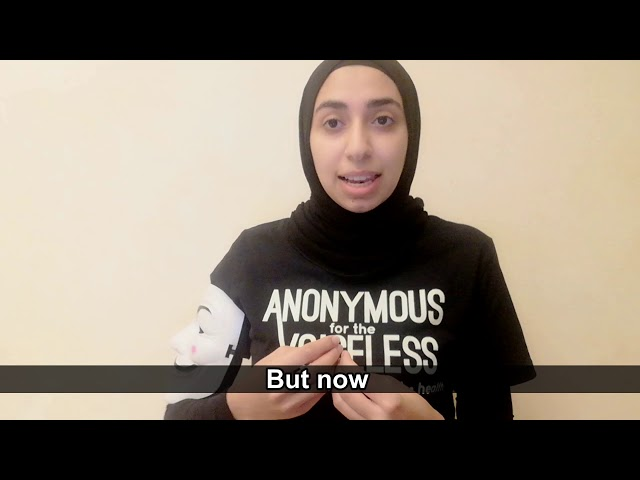 كلمة منظمة حقوق الحيوان الدولية Anonymous for the Voiceless