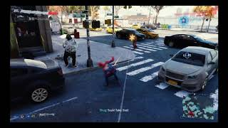 Playing Marvel's Spider-Man