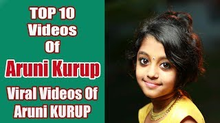 Top 10 Videos Of Aruni Kurup | Tiktok Videos | Viral Videos Of Aruni Kurup