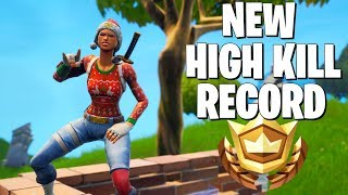 Breaking the *WORLD RECORD* for Kills in the NEW FortniteMares Mode