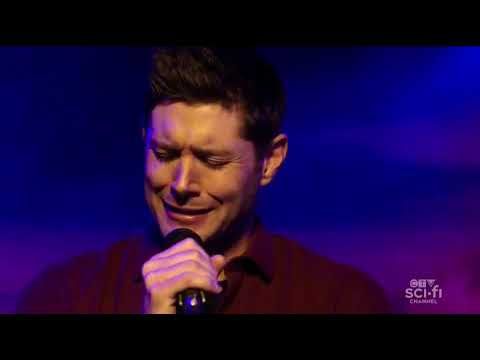 Dean Winchester singing Dukes of Hazzard with his buddy Lee [Supernatural 15x07 Last Call]