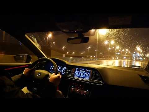 2017 SEAT Leon CUPRA ST 300 4Drive 4WD [ TEST DRIVE ][ HEAVY RAIN ] ULEWA Jazda Próbna PL