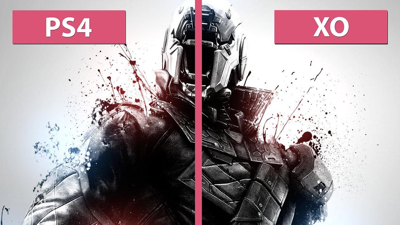 Destiny - PS4 vs. Xbox One Graphics Comparison - YouTube