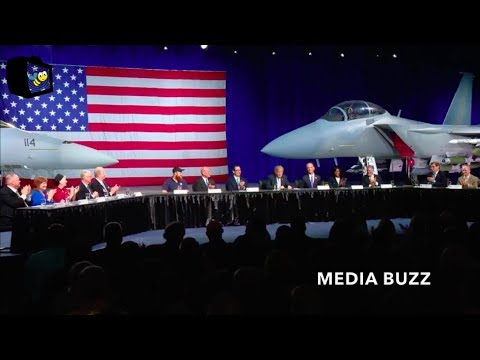 Trump Roundtable Discussion on Tax Cuts and Economic Growth at Boeing Facility 3/14/18