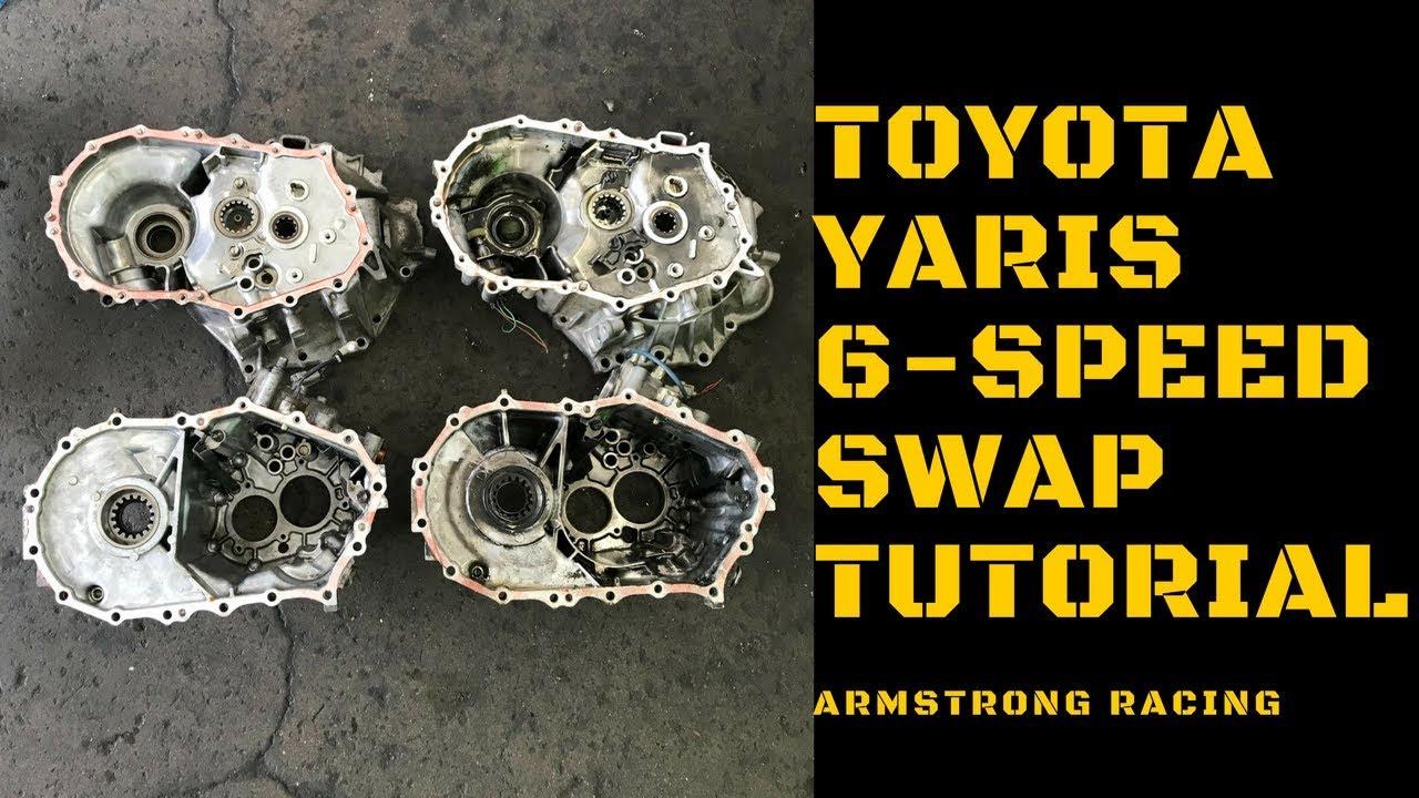 Toyota Yaris 6 Speed Swap Tutorial