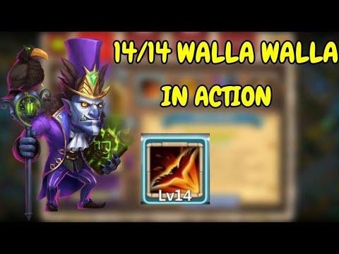 14/14 Walla Walla In Action L Castle Clash