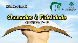 IPB Arapongas - Uma chamada para a fidelidade - Pr. Donadeli - 14-02-2021