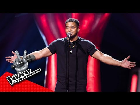 Idriss zingt 'What You Won't Do For Love ' | Blind Audition | The Voice van Vlaanderen | VTM