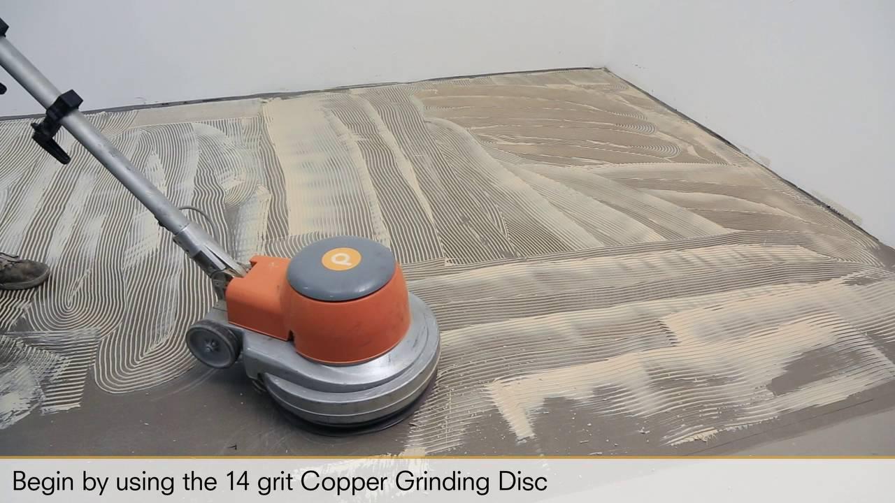 Pallmann Copper Grinding Discs Youtube