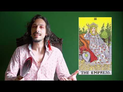 Os 22 Arcanos Maiores Do Tarot - III A Imperatriz