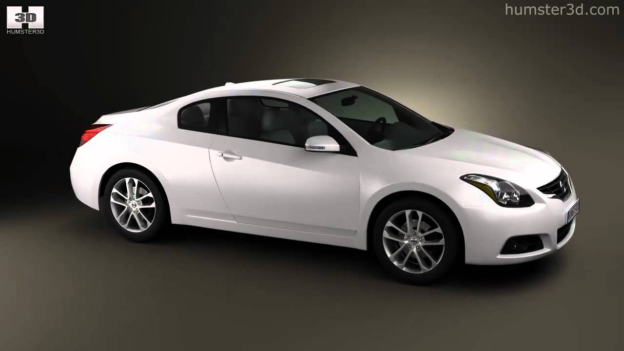 Nissan Altima Coupe 2012 By 3d Model Store Humster3d Com