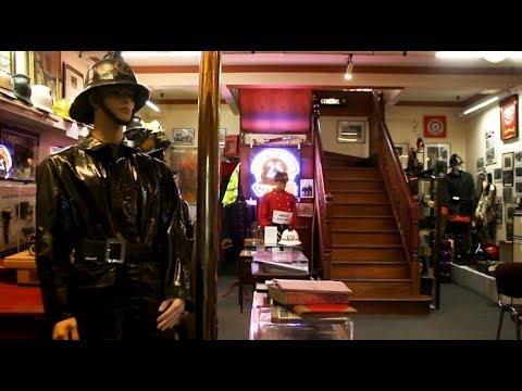 We took a tour of the Dublin Fire Brigade Museum