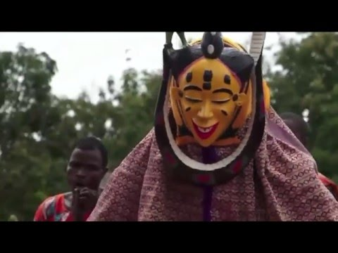 Zaouli dancers and musicians of Côte d'Ivoire: SBS Reporter Alex Parry reports from Africa