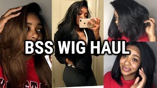 AFFORDABLE WIG HAUL & TRY ON| BSS WIG EDITION| SYNTHETIC WIG GEMS