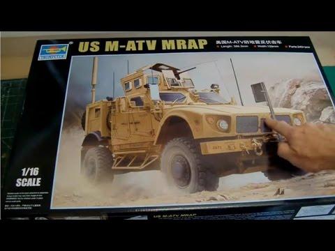 Trumpeter 1/16 US M-ATV MRAP (Oshkosh) # 00930 - Part 1 - Review