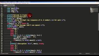 crypto - программа для шифрования текста