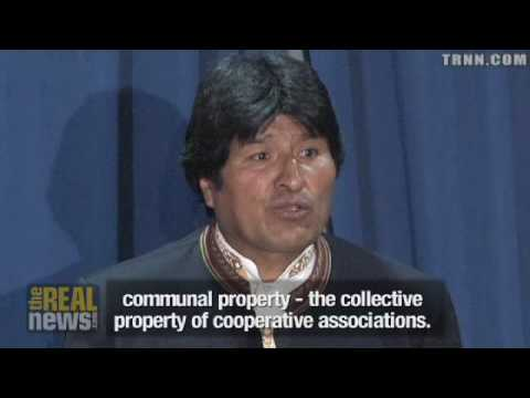 Evo Morales in his Own Words