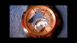 Earnshaw Automatic Power Reserve Watch. HD
