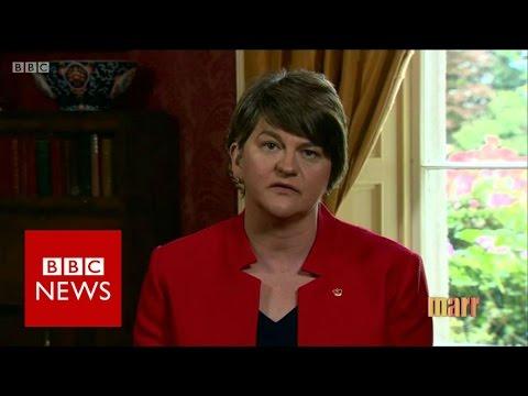 DUP FM: NI peace process 'not based on the EU' - BBC News