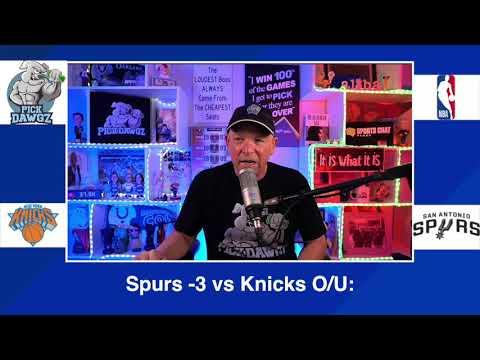 San Antonio Spurs vs New York Knicks 3/2/21 Free NBA Pick and Prediction NBA Betting Tips