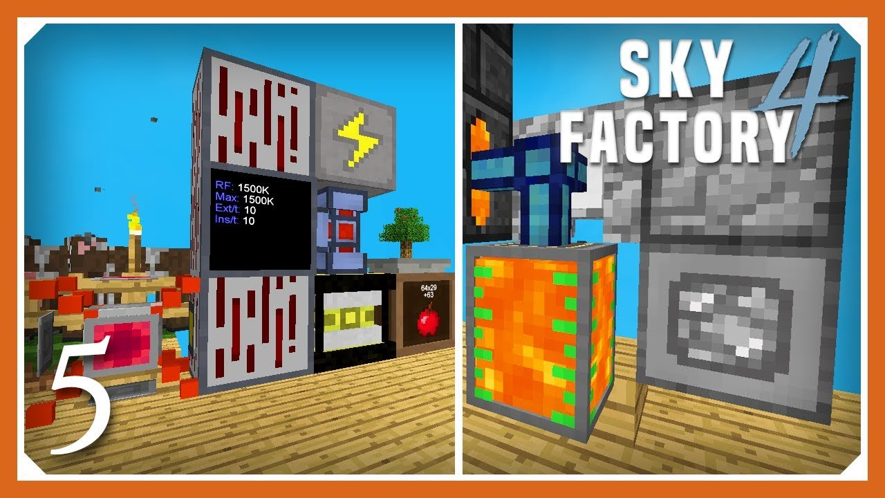 How To Get Lava In Skyfactory 4