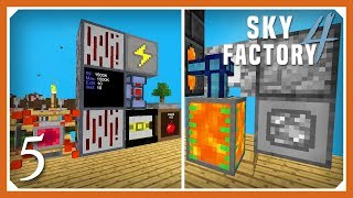 Sky Factory 4 | Auto Lava, RF Power & Wireless Transfer! | E05 (Sky Factory 4 SMP Skyblock 1.12.2)