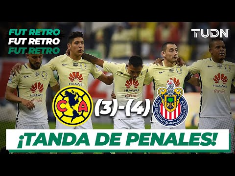 Futbol Retro: ¡Chivas a la final! América (3) - (4) Chivas | Penales | Semifinal Copa Mx 2016 | TUDN