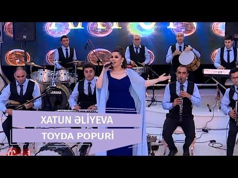 Xatun Əliyeva - Toyda Popuri  Canlı İfa