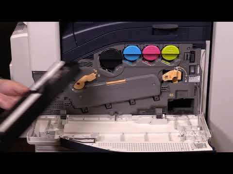 Xerox® AltaLink® C8070 Family Replacing the Waste Toner Container No Audio