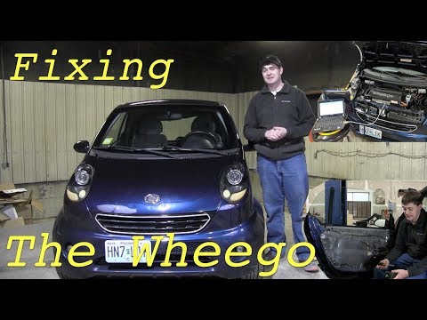Restoring The Wheego to Its Former Glory