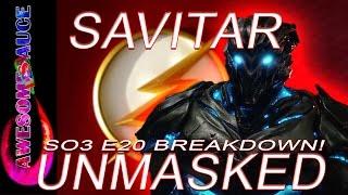 The Flash Season 3 Episode 20 FORESHADOWING SAVITAR! PROMO BREAKDOWN!