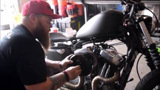 Gambar cover How to Install an Outlaw HiFlow 587 Air Cleaner System on a Harley