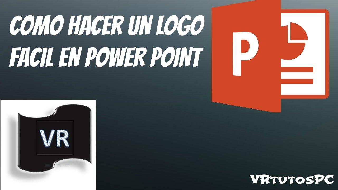 como hacer un logo gratis sin programas youtube