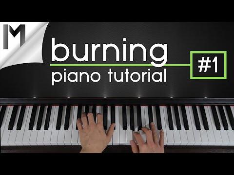 Burning ~ Piano Tutorial ~ Part 1/5 | Ludovico Einaudi