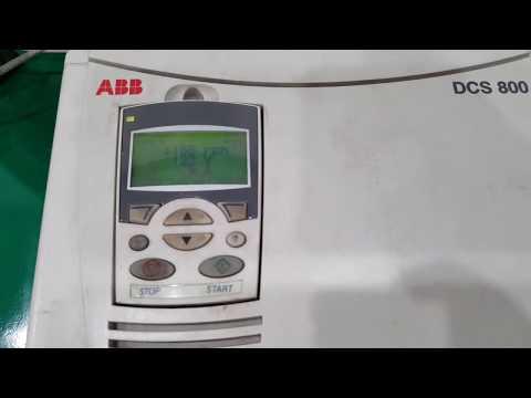 ABB, DCS800, DCS800-S02-0140-05, DC Drive - YouTube on