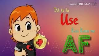 AF Love    Tujhe Dekhkar Tujhe    