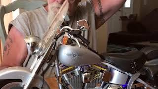 Harley Davidson Fat Boy Model Kit - Part 1- De Agostini Model Space
