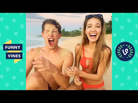 TRY NOT TO LAUGH - The Best Lexi Rivera & Ben Azelart Videos!