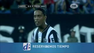 Ronaldinho vs Zamora HD 720p (11/02/2014)