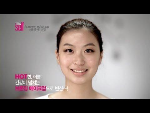韩国女孩-化妆技巧(古铜妆)-女生必看@@